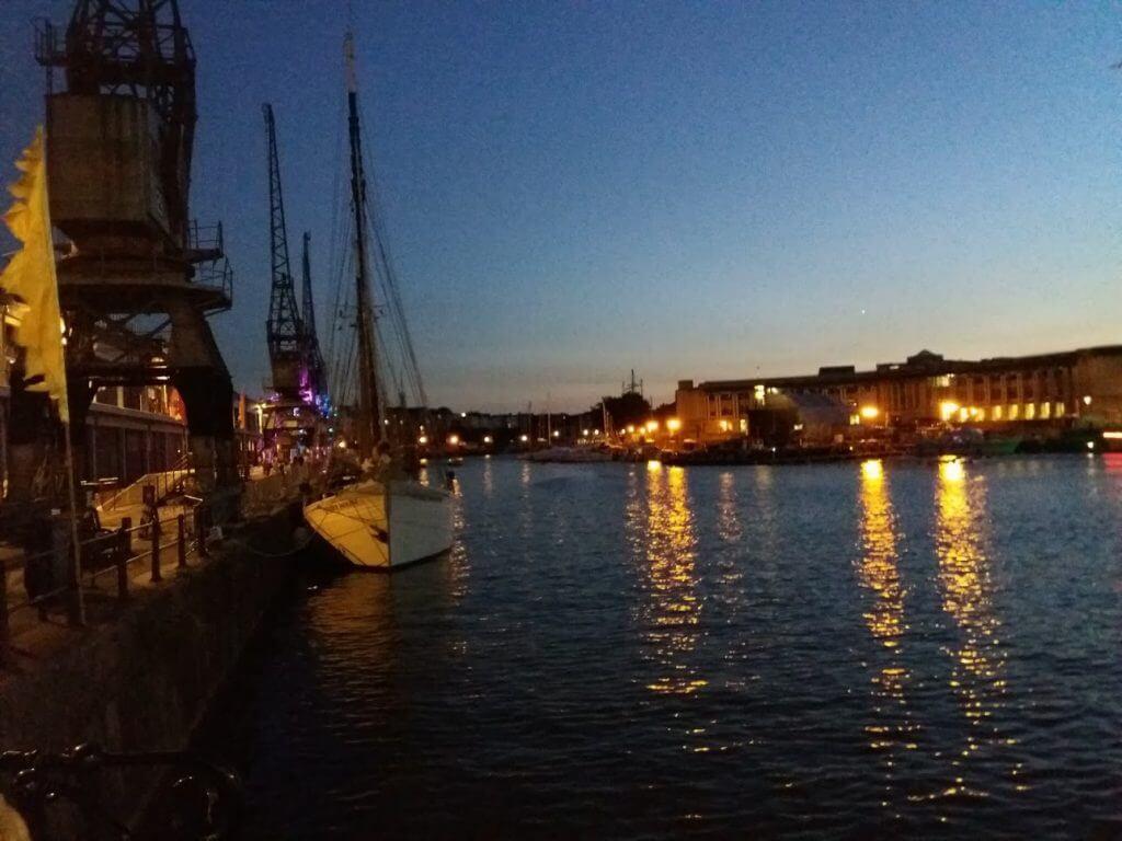 Night Bristol Docks