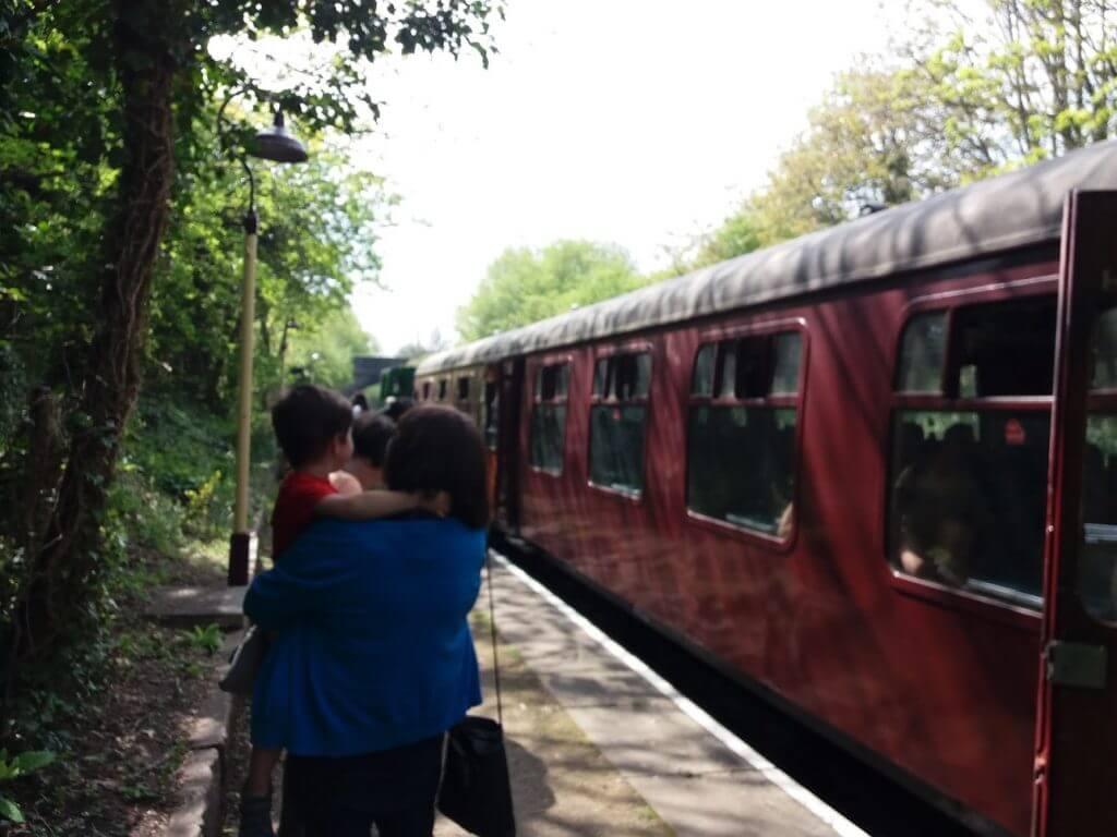 Steam Train at Bitton
