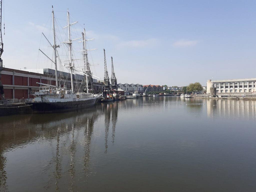 Saturday 25th April: Bristol City Docks (10.23am)
