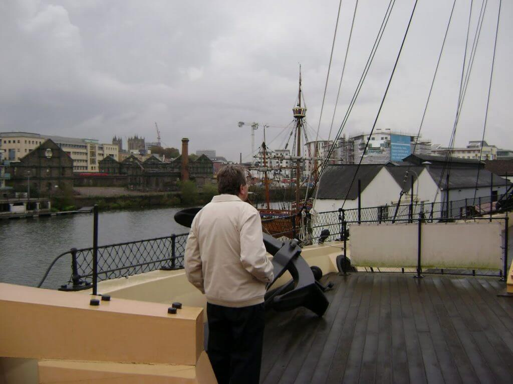 TAKE A STROLL ON THE DECK OF THE SS GREAT BRITAIN
